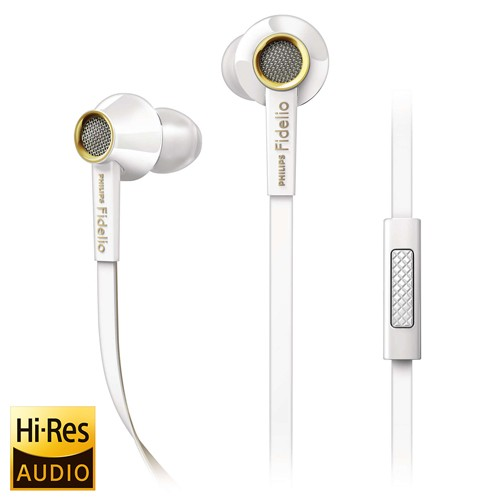 Philips In-Ear Headphone Fidelio S2 - White