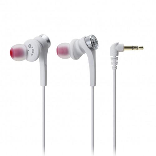 Audio Technica In-ear Headphone ATH-CKS55X - White