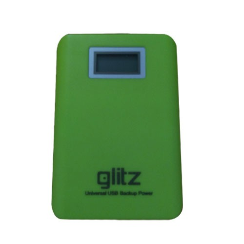 Glitz Powerbank LED 15.000 - Green