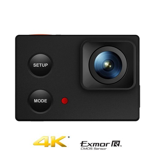 Isaw Action Cam FHD Edge 4K - Black