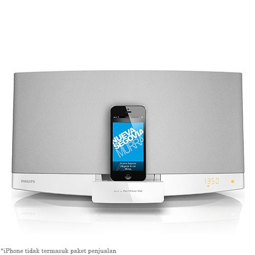 Philips Micro Music System DCM2260W - White