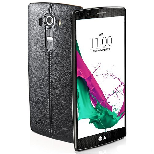 LG G4 Genuine Leather - Black