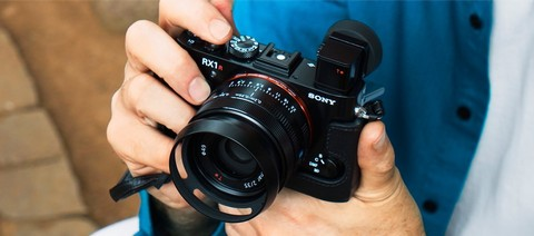 Sony Cyber-shot Camera DSC-RX1R Mark II  - Black
