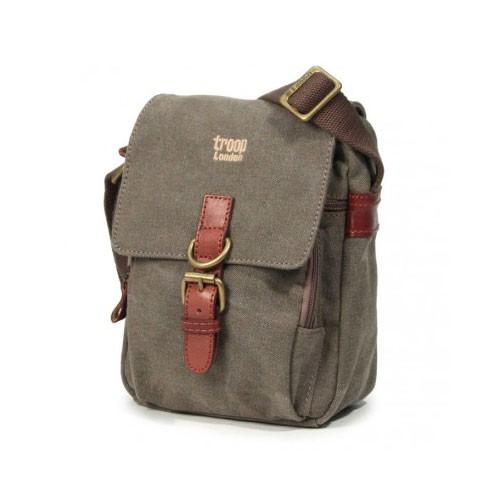 Troop London Canvas Bag TRP0212 - Brown