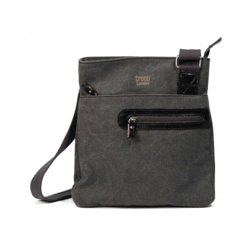 Troop London Canvas Bag TRP0227 - Black