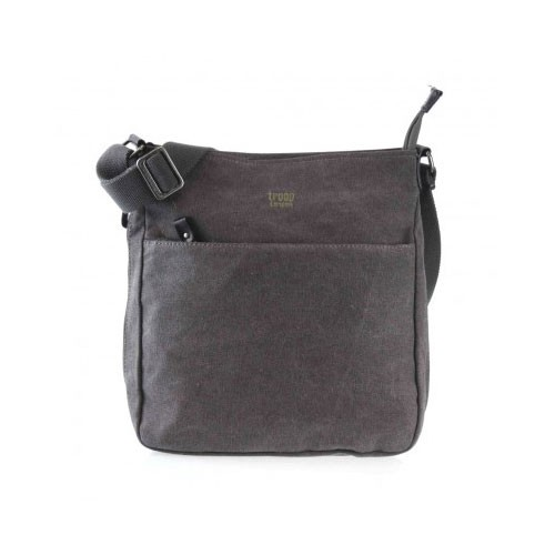 Troop London Canvas Bag TRP0236 - Black