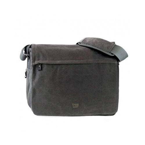 Troop London Canvas Bag TRP0240 - Black