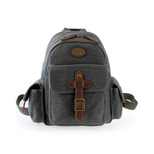 Troop London Canvas Bag TRP0357 - Black