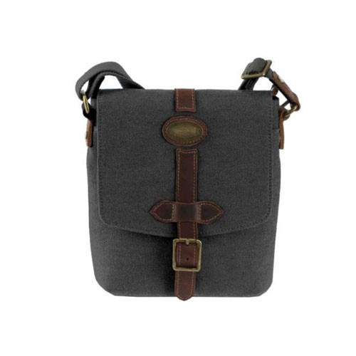 Troop London Canvas Bag TRP0356 - Black