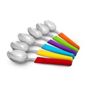 Oxone Spoon Rainbow 6 Pcs O