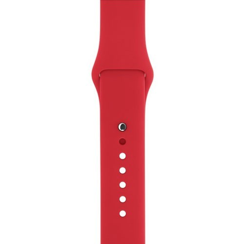 Apple Sport Band for Apple Watch 38mm (Strap Only) - (Product) Red