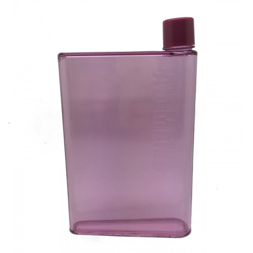 Memo Water Bottle A5 Premium Grade BPA Free 420ml  - Pink