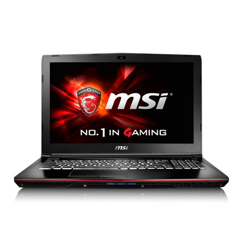 MSI Gaming Laptop GE62 6QC Apache with GTX 960M - Black