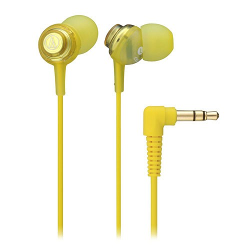 Audio Technica In-ear Headphone ATH-CKL202 - Yellow