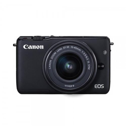 Canon Mirrorless Digital Camera EOS M10 with EF-M 15-45mm - Black