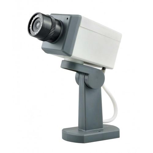 Fake Dummy Surveillance CCTV Camera with Motion Sensor (Kamera Simulasi Replika)