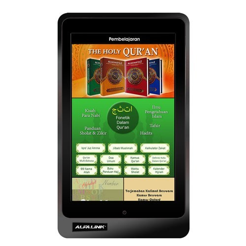 Alfalink Language Learning & Qur-an Tablet QT-70