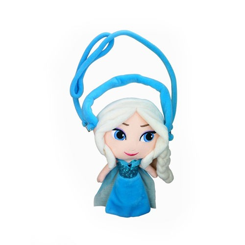 Frozen Plush Bag - Elsa