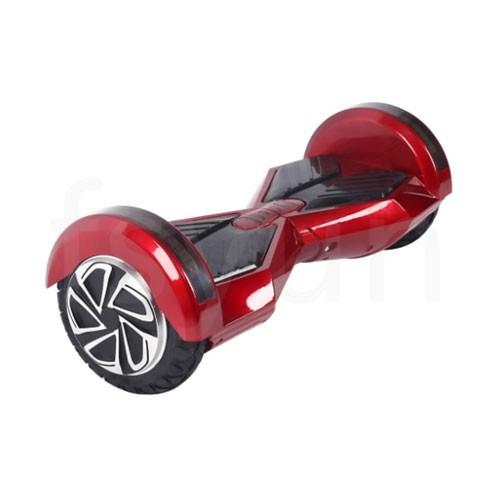 iKawai Smartwheel with Bluetooth Speaker 8 Inch - Red Black