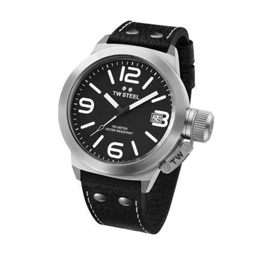 TW Steel Watch Canteen Leather - TW2