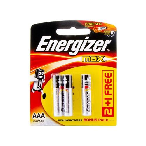 Energizer Baterai Alkaline E92 BP2   1 Max (AAA)