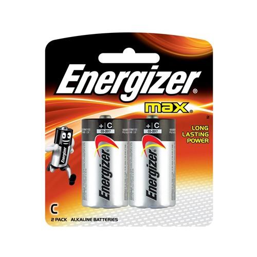 Energizer Baterai Alkaline E93 BP2 Size C