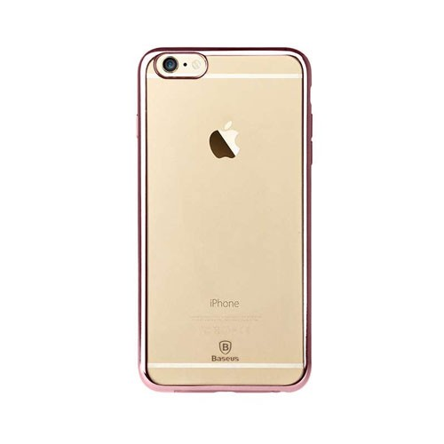 Baseus Shining Case For iPhone 6/6s Plus - Rose Gold
