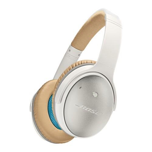 Bose Headphone QuietComfort 25 Acoustic Noise Cancelling iOS - White