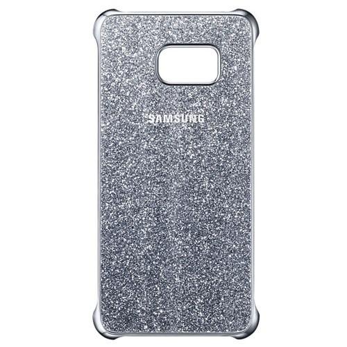 Samsung Glitter Case for Galaxy S6 Edge Plus - Silver