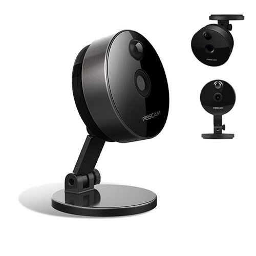 Foscam Indoor Wireless IP Camera C1 - Black