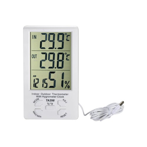 Termometer Hygrometer with LCD TA-298