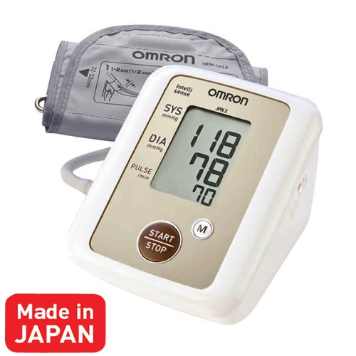 Omron Intellisense Blood Pressure JPN2 - White
