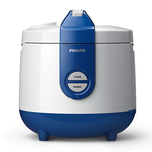 Philips Rice Cooker HD3118/31 - White Blue
