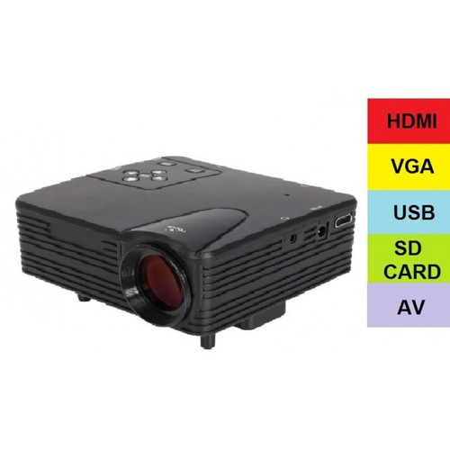 Mini LED Projector H100 Built-in TV Tunner with Lumens 100