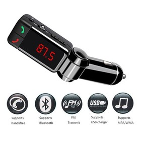 Bluetooth Car Charger Multi