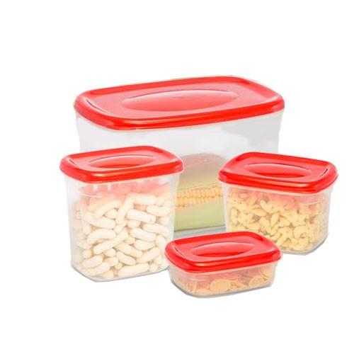 Imperial Food Storage 4 set - Red