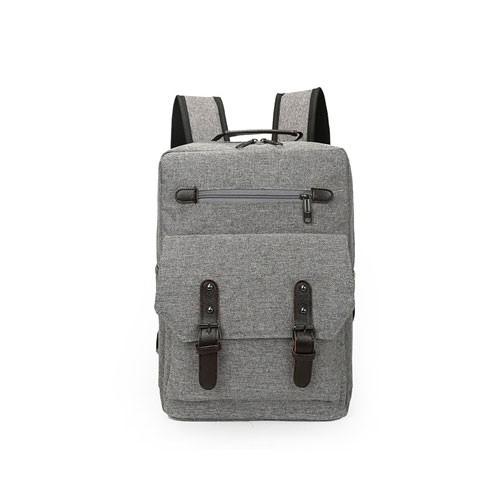 Tas Ransel Korean Elite Backpack K-11 - Grey