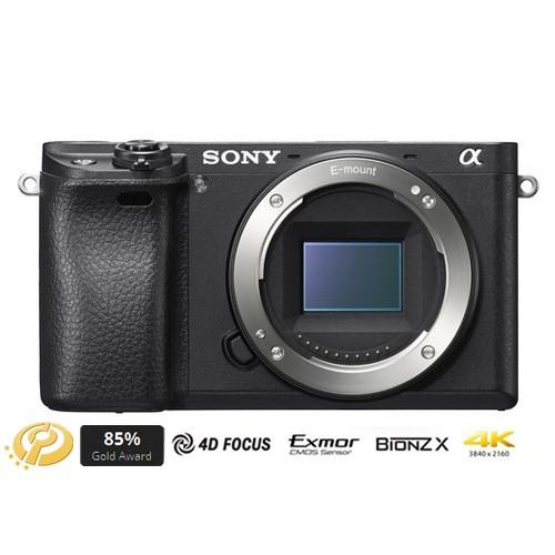 Sony Alpha a6300 Mirrorless Digital Camera (Body Only) - Black