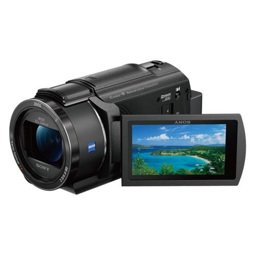 Sony 4K Handycam with Exmor R CMOS Sensor - FDR-AX40