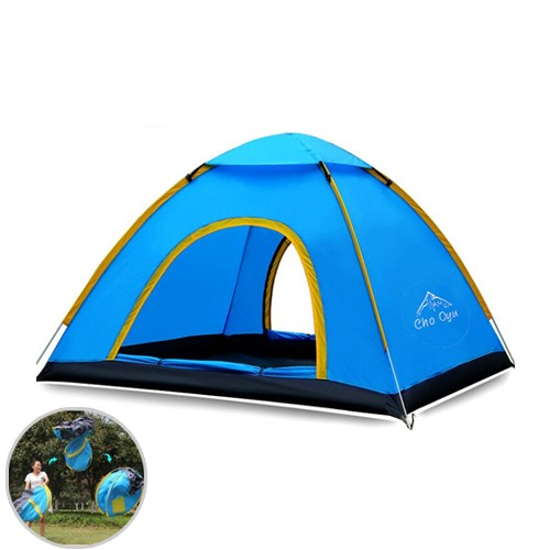 Automatic Speed Open Camping Tent (Tenda Camping) - Blue