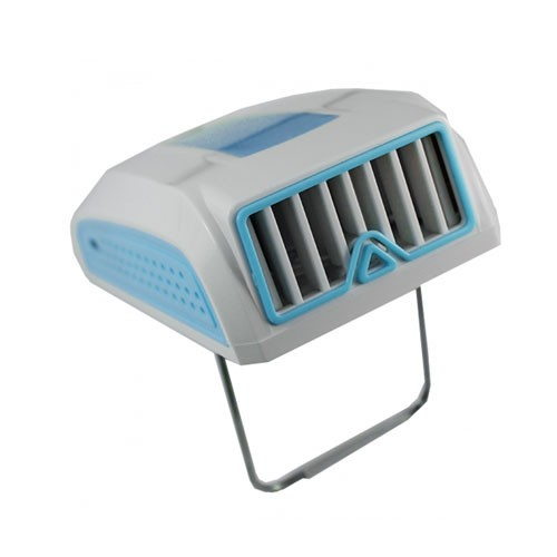 2 in 1 Portable Mini AC with Powerbank - Blue