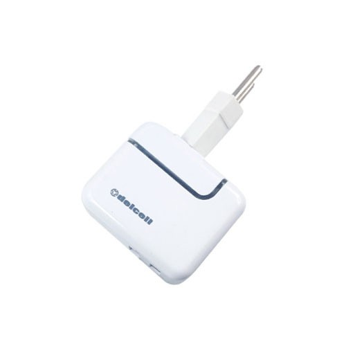 Delcell Dual USB Port Adaptor Charger