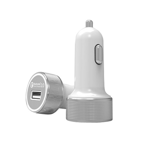 Ciyocorps Car Charger ES-14 - White Grey