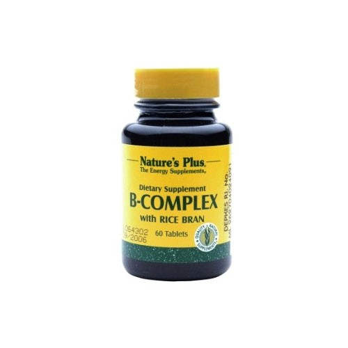 Natures Plus B Complex - 60 Tablets