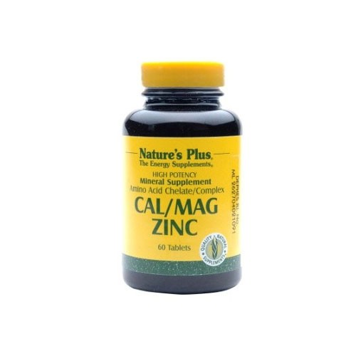 Natures Plus Cal,Mag and Zinc - 60 Tablets
