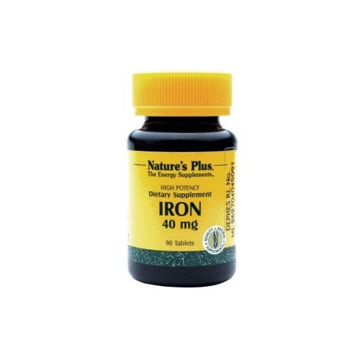 Natures Plus Iron - 90 Tablets