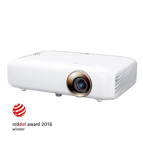 LG Minibeam LED Projector PH550 - White