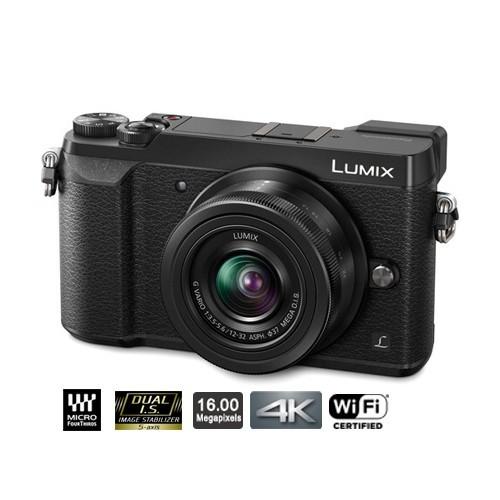 Panasonic Lumix Mirrorless Digital Camera with 12-32mm Lens GX85 - Black