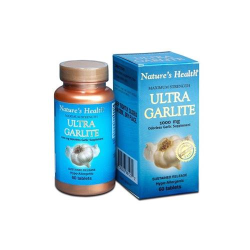 Natures Health Ultra Garlite - 60 Tabs