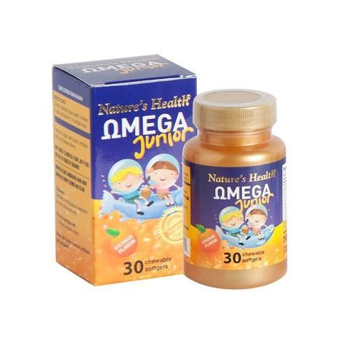 Natures Health Omega Junior - 30 Softgels